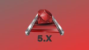 Capa do curso de Ruby on Rails 5.x