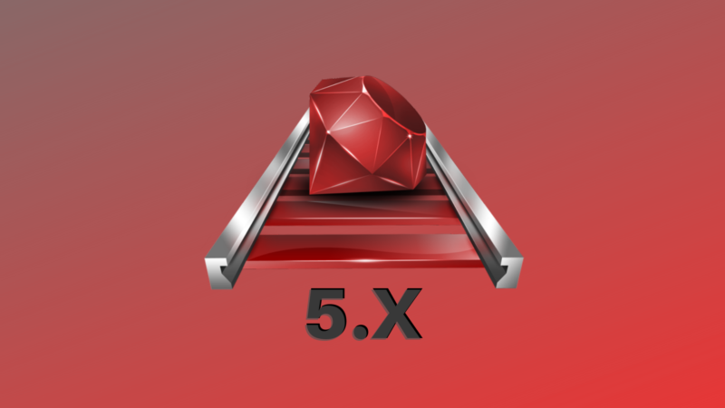 Capa do curso de Ruby on Rails 5.x