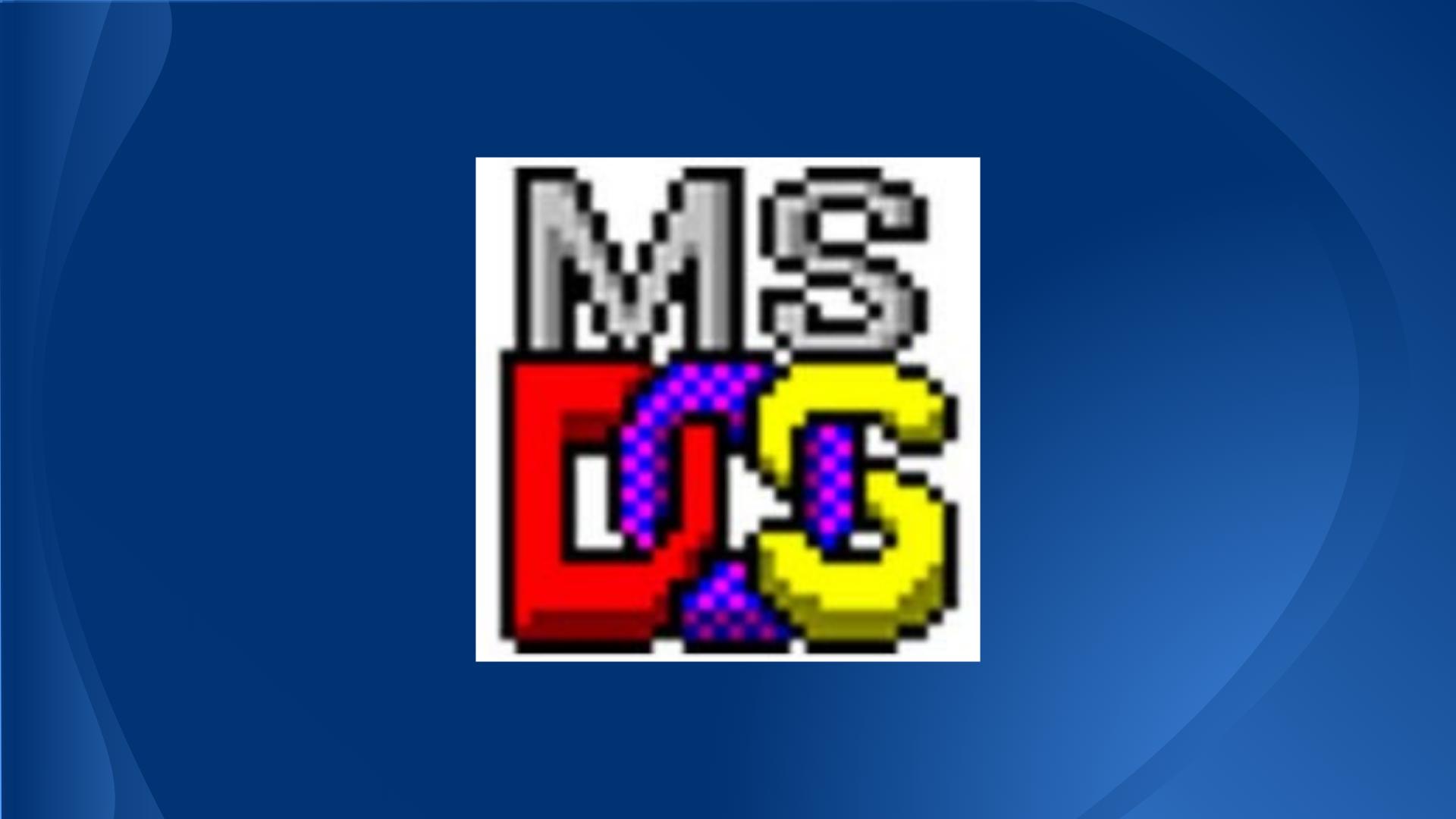 Princípios do MS-DOS