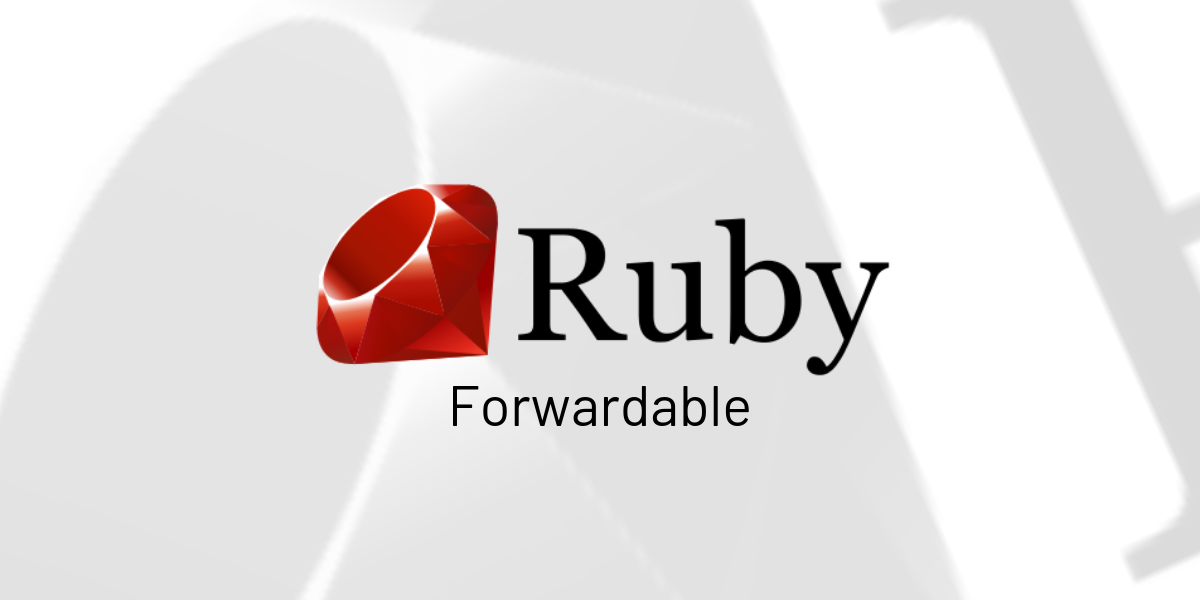 [Post+Video] Ruby Forwardable module