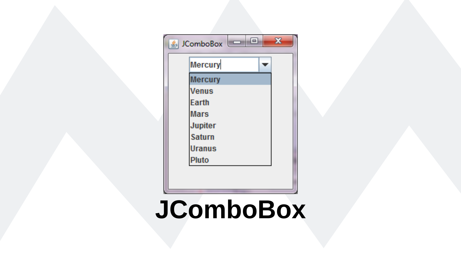 Inserindo objetos como item do JComboBox — Java