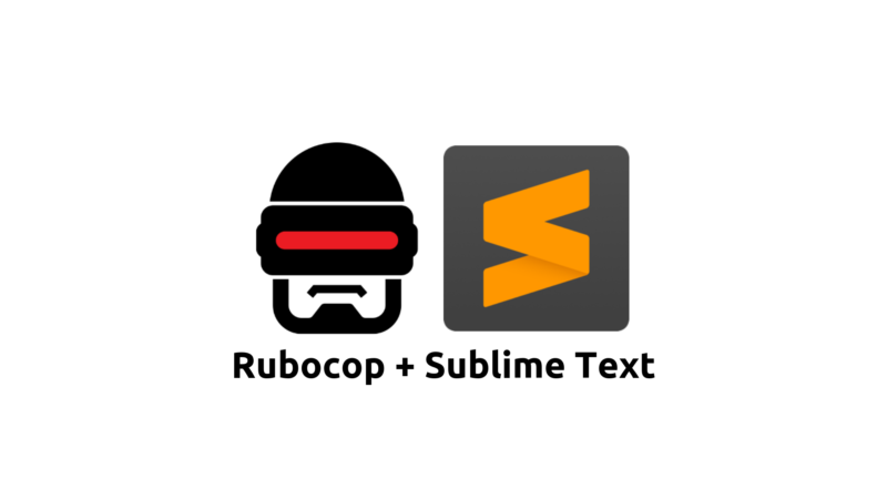Rubocop com Sublime Text 3