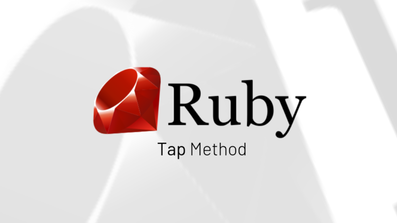 Ruby Tap Method