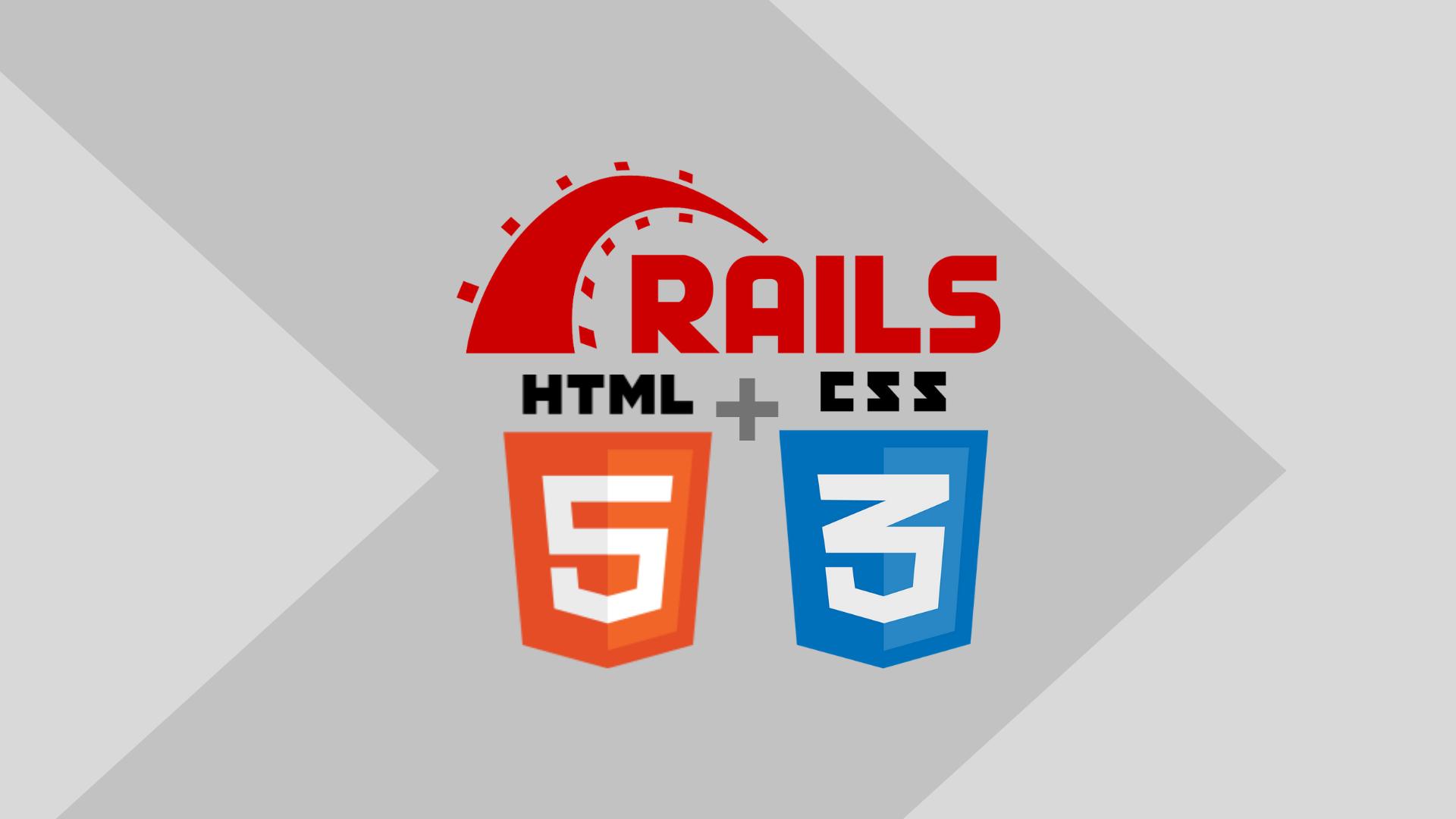 """[Post + Vídeo] Migrando um """"template HTML"""" para o Ruby on Rails"""