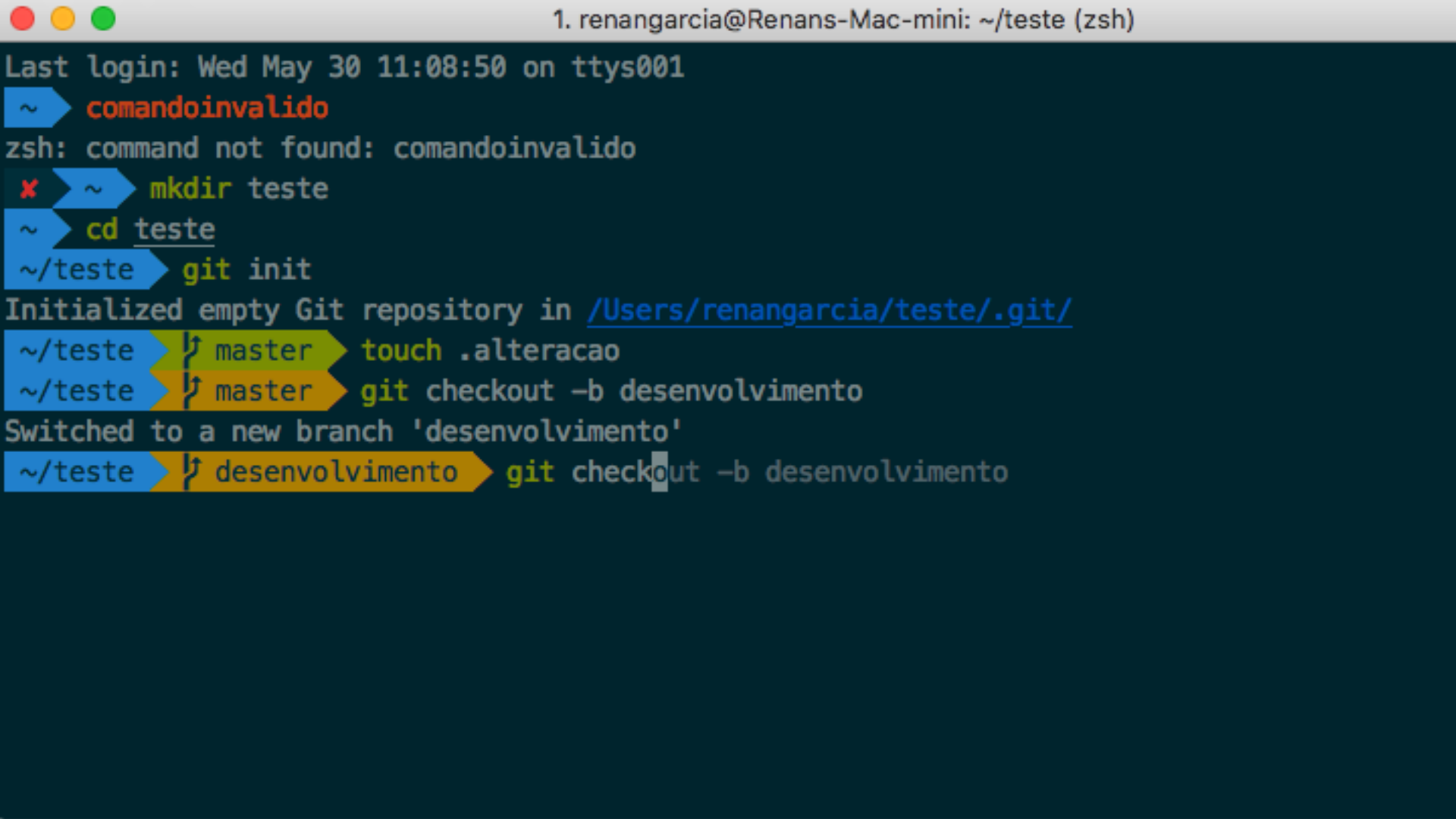 Como ter um terminal mais produtivo e cool no macOS :)