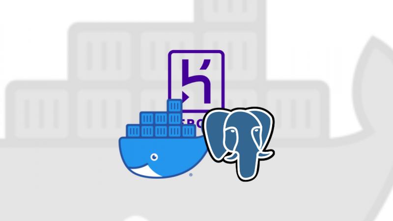 Como restaurar um backup do Heroku em seu container docker do Postgres?